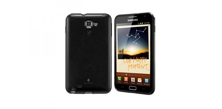 SGP case Ultra Capsule Soul Black for Galaxy Note
