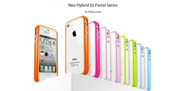 SPIGEN SGP iPhone 4 / 4S Case Neo Hybrid 2S Pastel Series