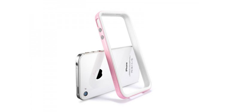SGP iPhone 4/4s Case Neo Hybrid 2S Snow Series Shebet Pink