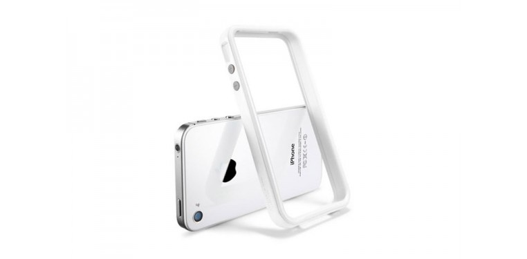 SGP iPhone 4/4s Case Neo Hybrid 2S Snow Series Infinity White