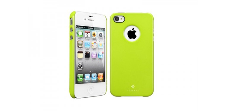 SGP iPhone 4S case Ultra Thin Air Lime