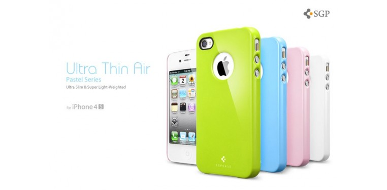 SPIGEN SGP iPhone 4 / 4S Case Ultra Thin Air Pastel Series