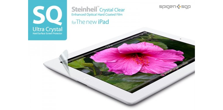 SPIGEN SGP The new iPad 4G LTE / Wifi Screen Protector Steinheil Series