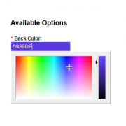 Product Color Picker Option
