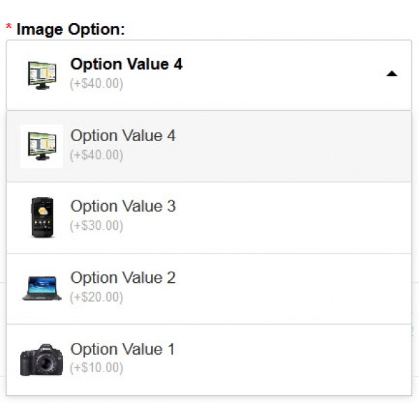 Opencart stock multiple options